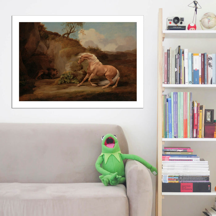 George Stubbs - Horse Frightened By A Lion 2416309