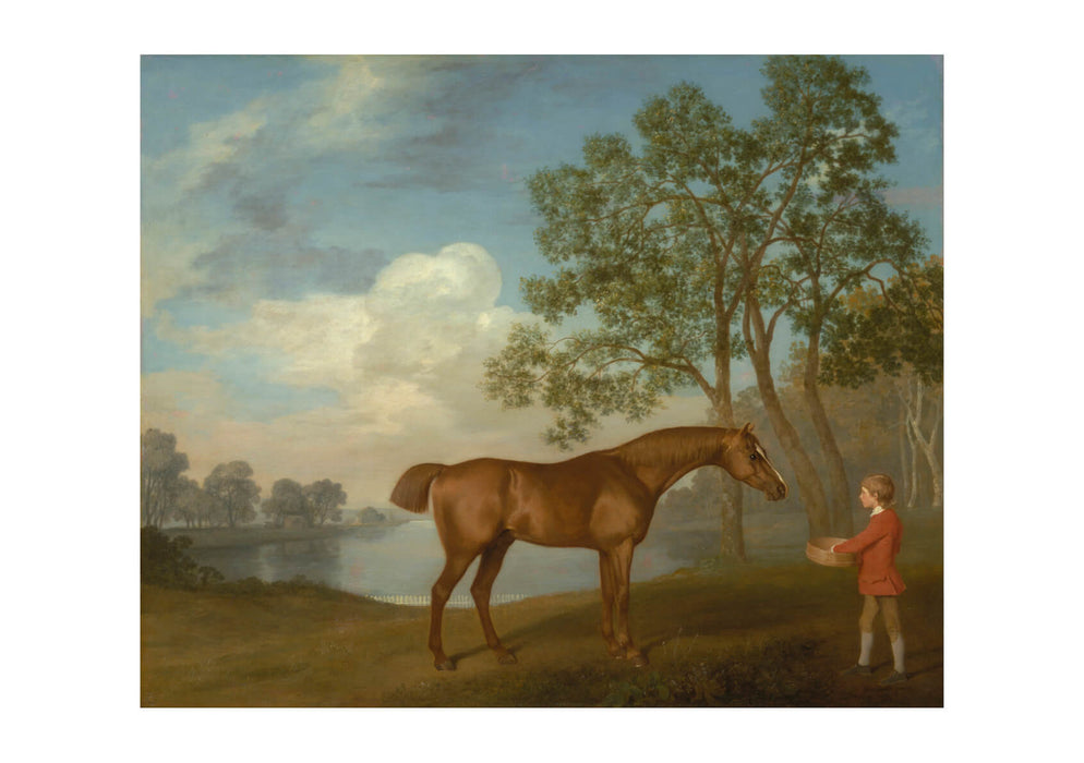 George Stubbs - Pumpkin with a Stable-lad