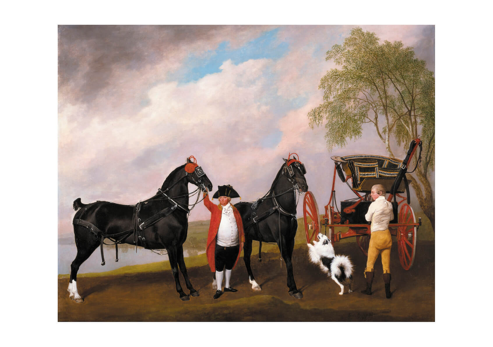 George Stubbs - The Prince Of Wales's Phaeton