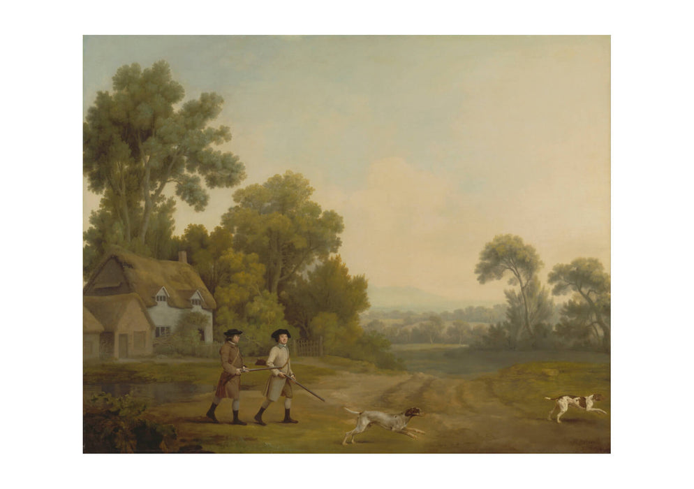 George Stubbs - Two Gentlemen Going A Shooting