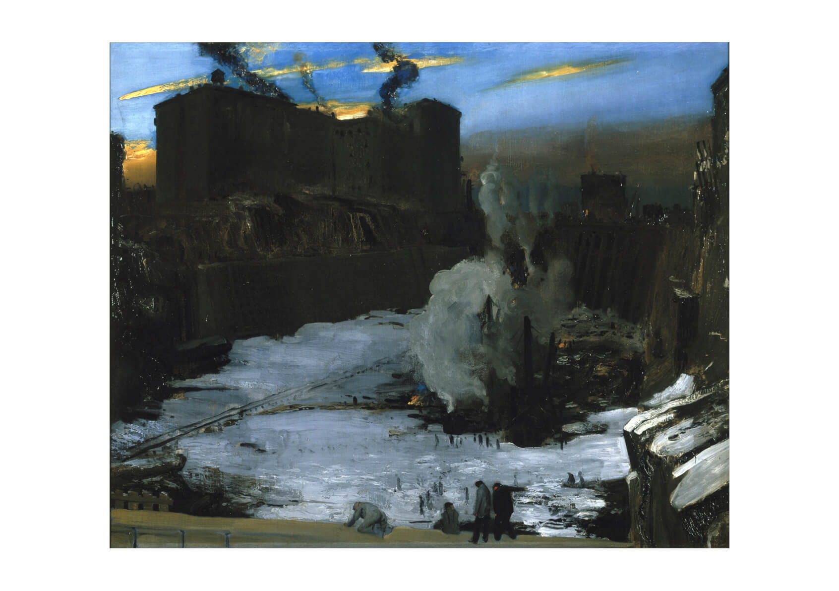 George Wesley Bellows - Pennsylvania Station Excavation