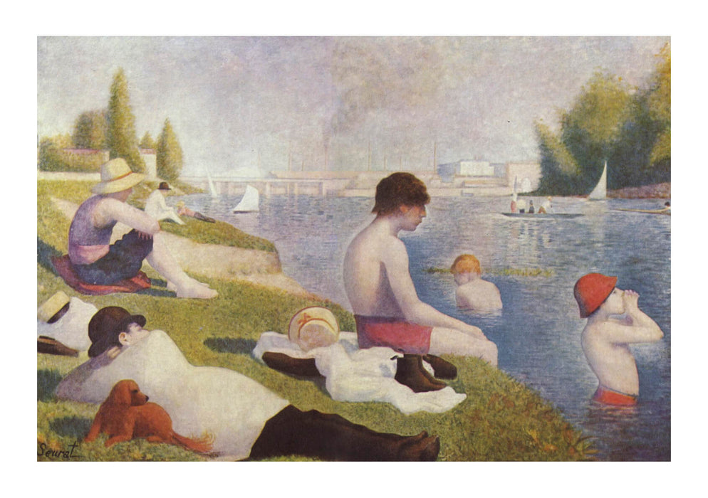 Georges Seurat - Bathers by the River