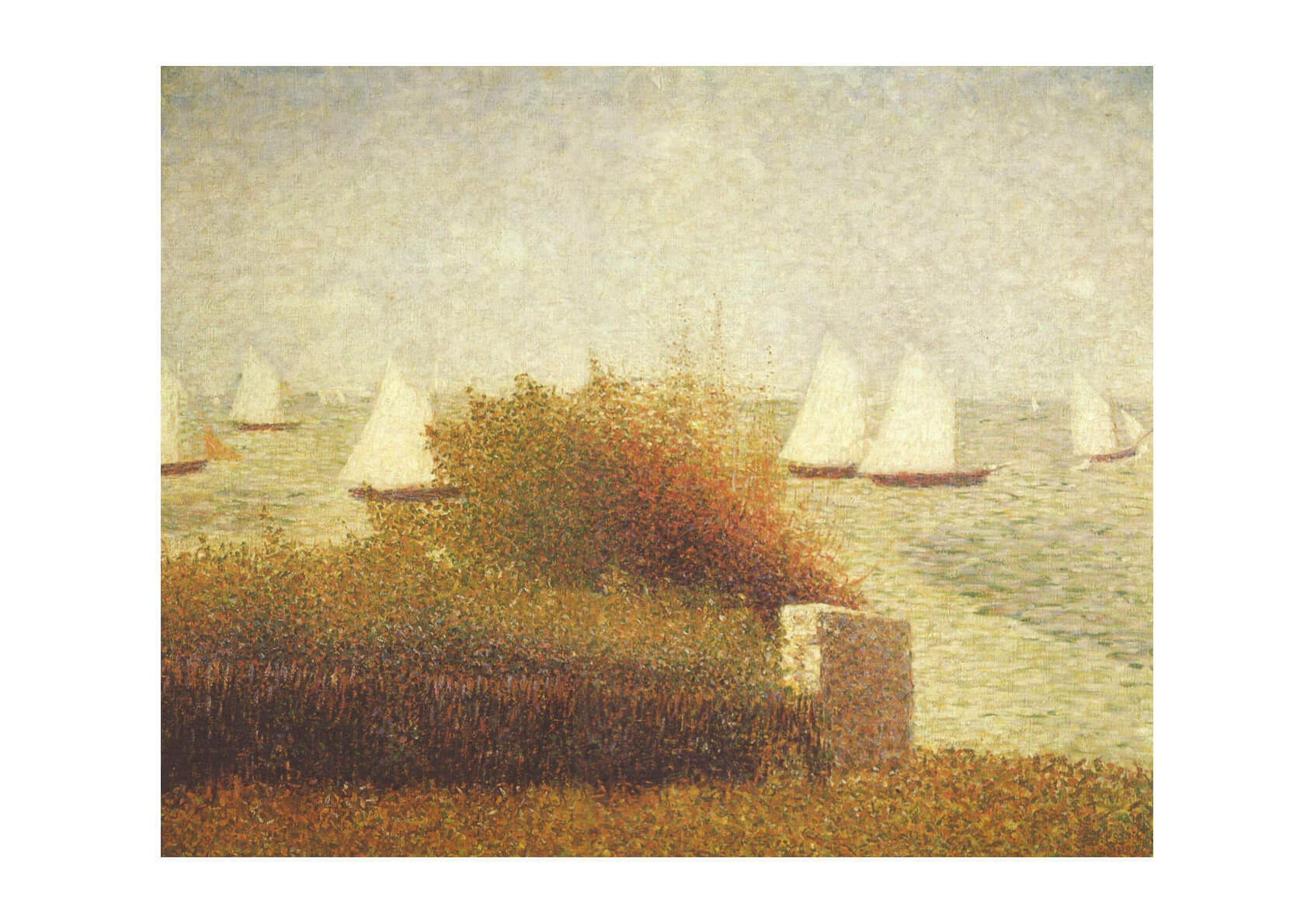Georges Seurat - Boats at Sea