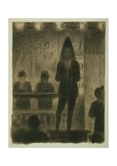 Georges Seurat - Study for Circus Side Show