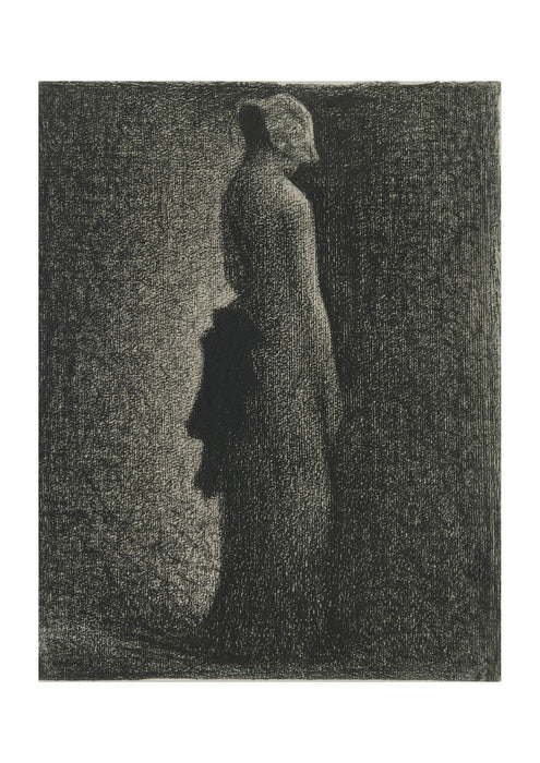Georges Seurat - The Black Bow