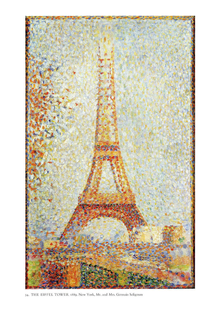 Georges Seurat The Eiffel Tower 1889