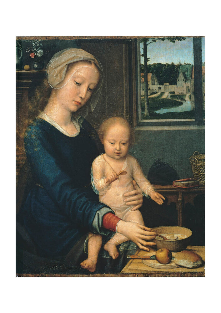 Gerard David - Madonna And Child With The Milk Soup