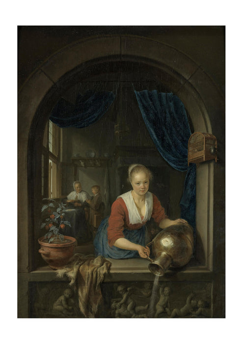Gerard Dou Maid at the Window