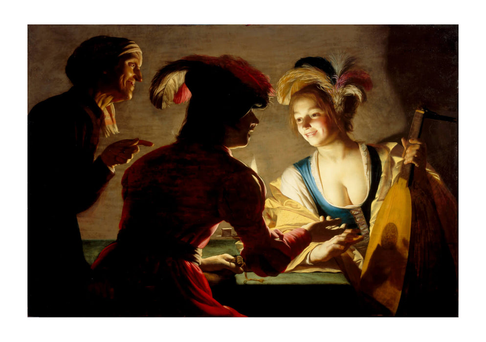Gerard van Honthorst The procuress