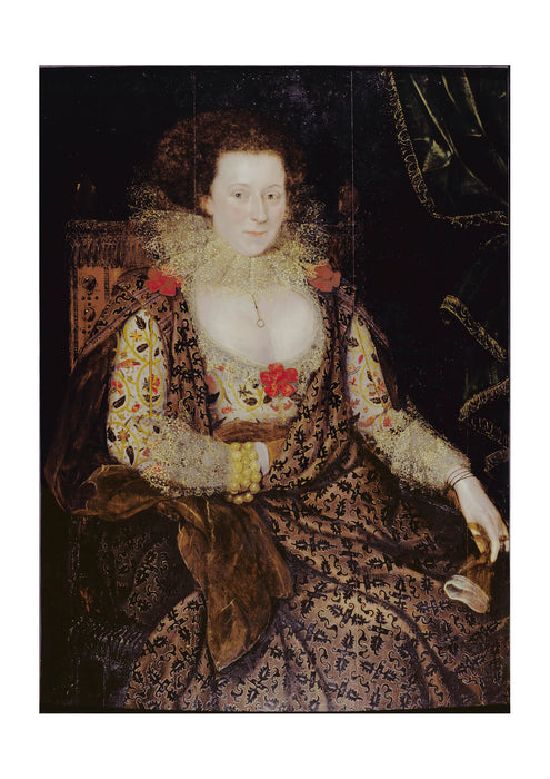 Gheeraerts Marcus The Younger - Portrait Of A Lady