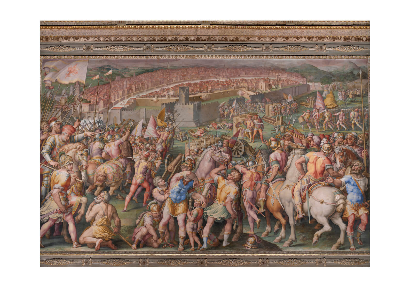 Giorgio Vasari - Storming Of Fortress Of Stampace