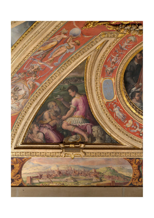 Giorgio Vasari - To Bottom View Of Florence