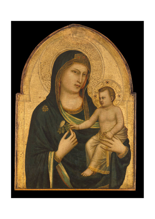 Giotto - Madonna And Child