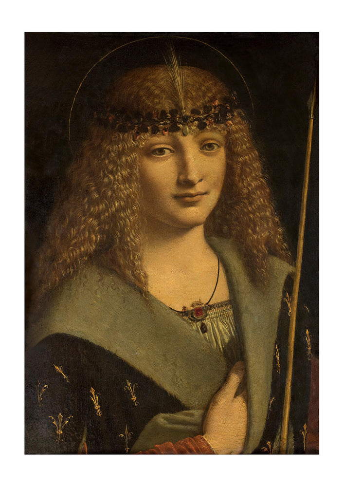 Giovanni Antonio Boltraffio - A Boy As St Sebastian