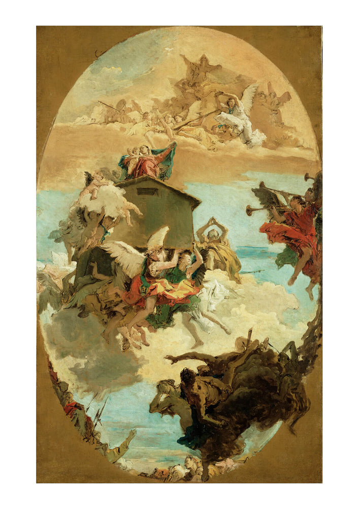 Giovanni Battista Tiepolo - Holy House Of Loreto