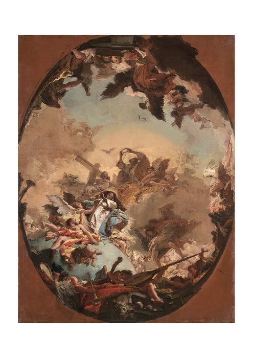 Giovanni Battista Tiepolo - The Coronation Of The Virgin