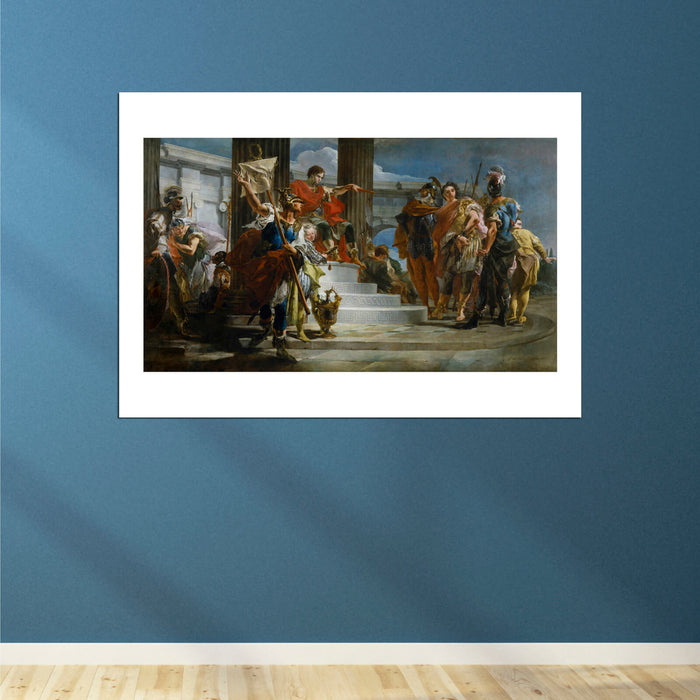 Giovanni Battista Tiepolo Scipio Africanus Freeing Massiva