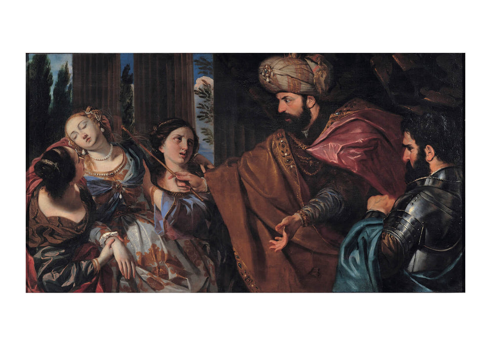 Giovanni Bonati - Esther Before Ahasuerus