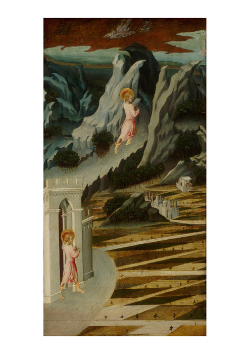 Giovanni Di Paolo - St John Baptist Entering Wilderness