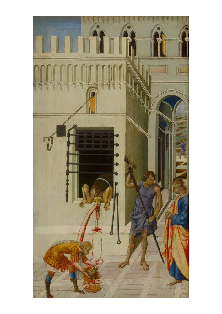 Giovanni Di Paolo - The Beheading Of St John The Baptist