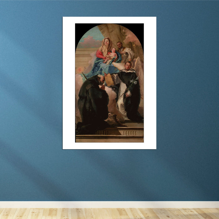 Giovanni Domenico Tiepolo - Madonna and Child