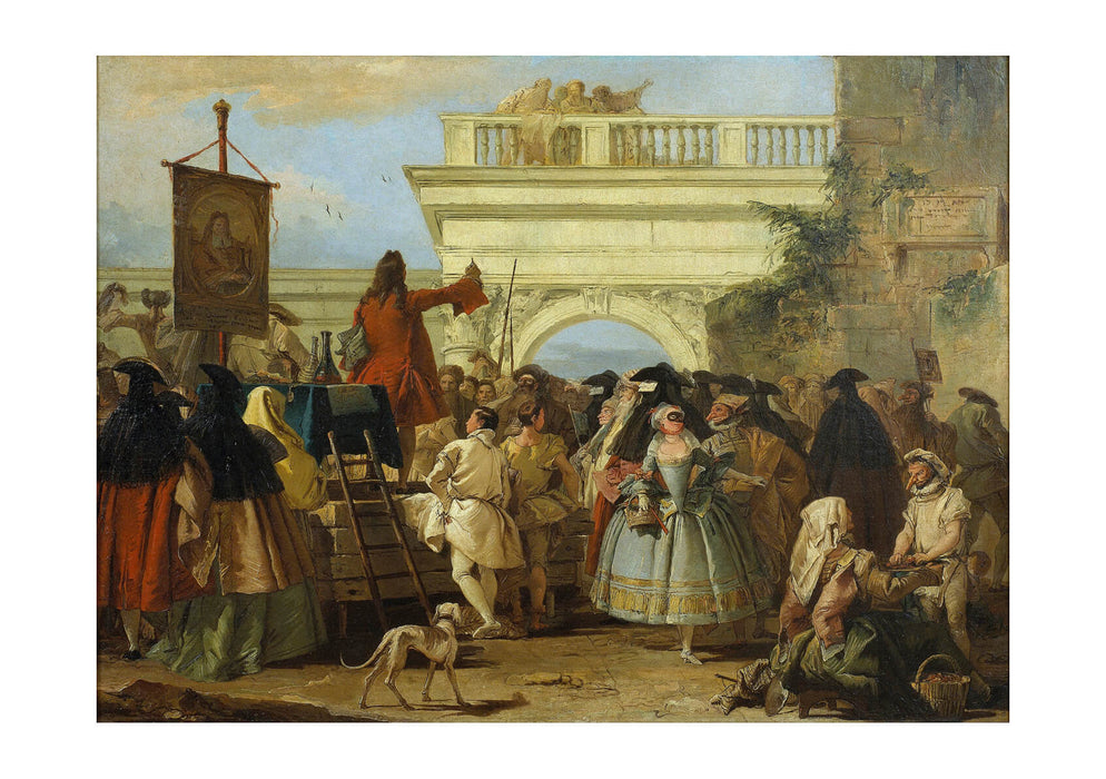 Giovanni Domenico Tiepolo - The Charlatan