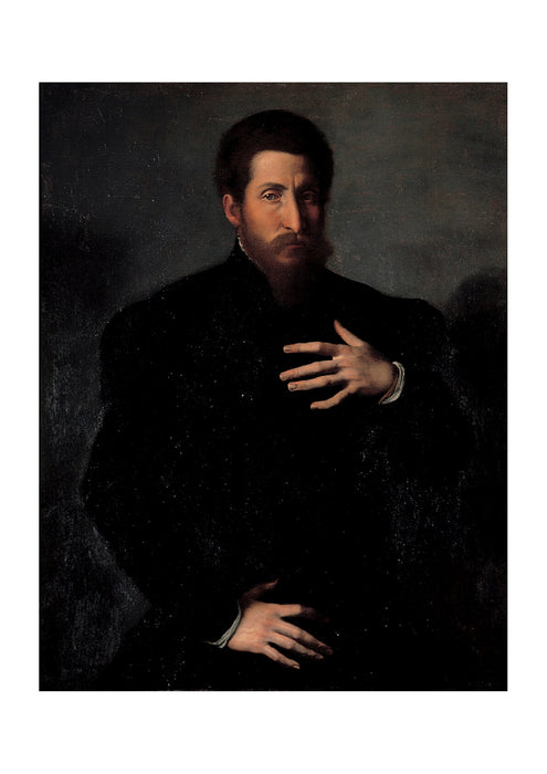 Girolamo Da Carpi - Portrait Of A Virile Man