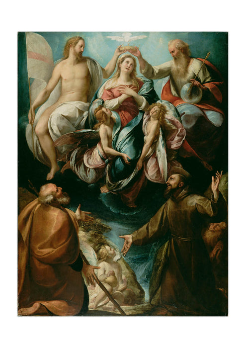 Giulio Cesare Procaccini - Coronation Of Virgin