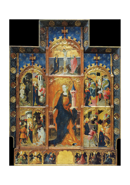 Gonçal Peris Sarrià - Altarpiece Of Saint Barbara