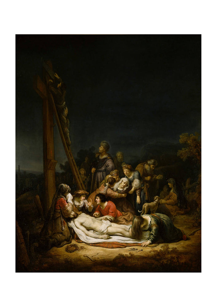 Govaert Flinck - The Lamentation