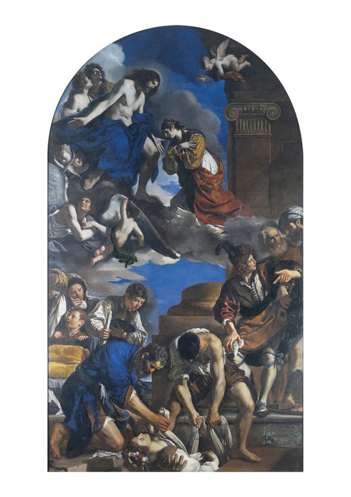 Guercino - Burial Of Saint Petronilla