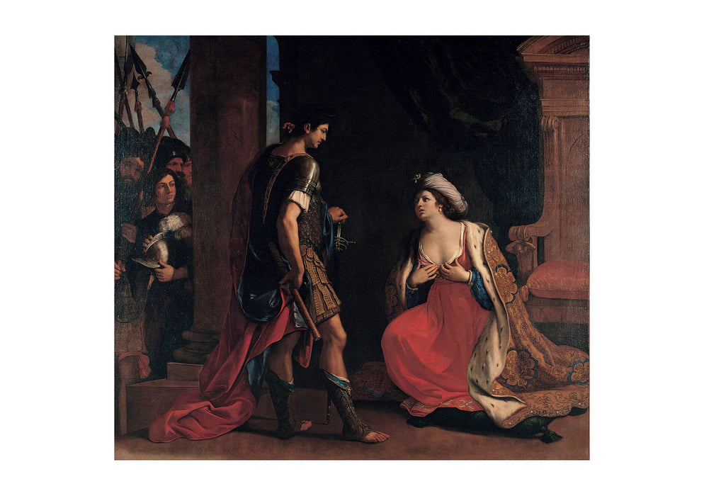 Guercino - Cleopatra And Octavian