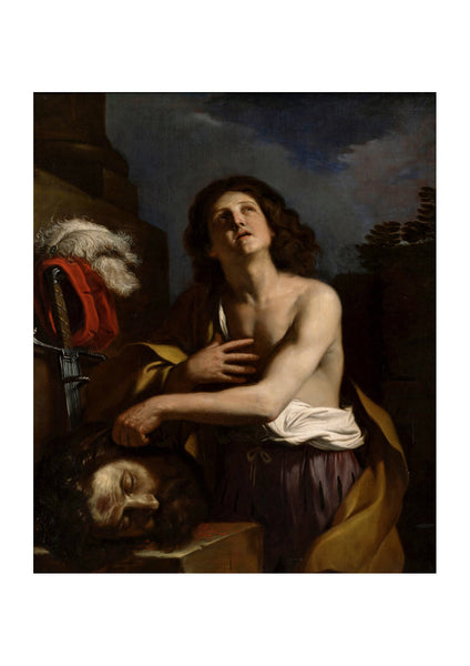 Guercino Barbieri - David With Head Of Goliath