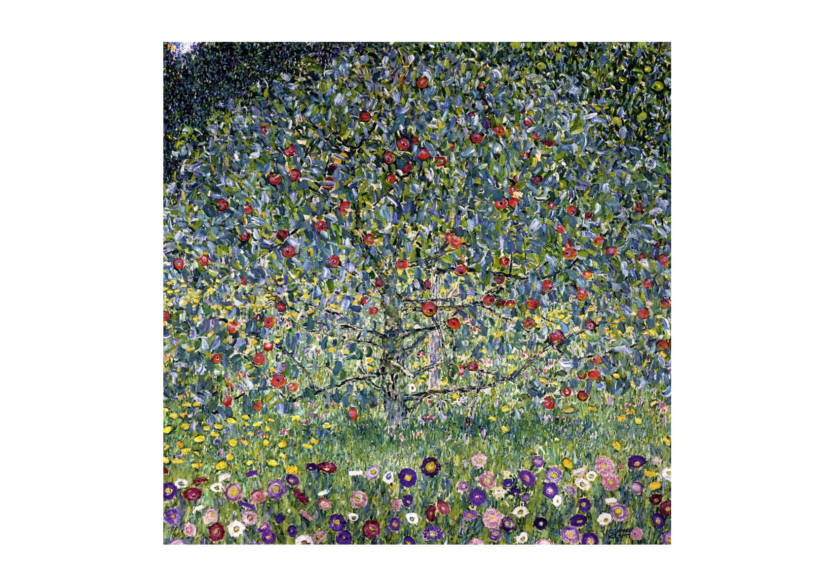 Gustav Klimt - Apple Tree 1912
