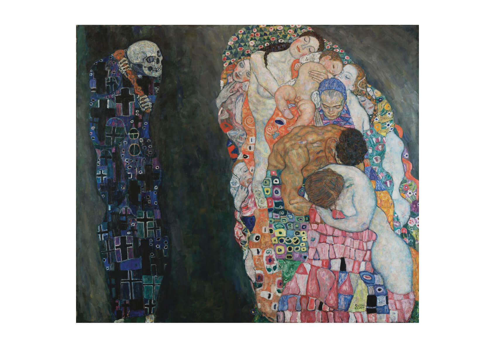 Gustav Klimt - Death And Life