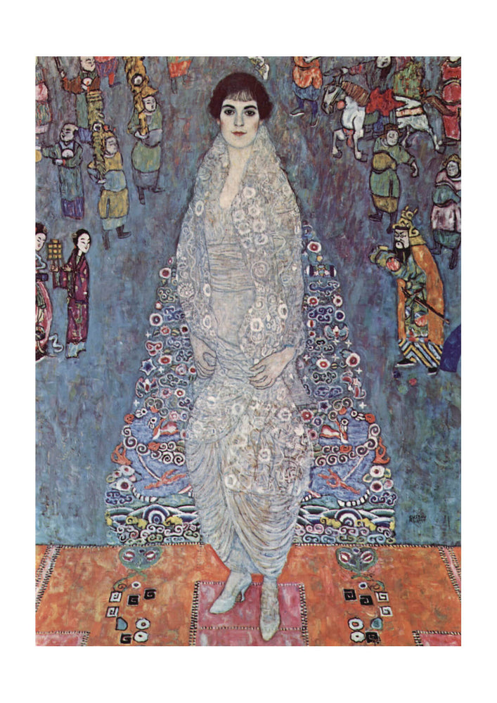 Gustav Klimt - Portrait in Blue