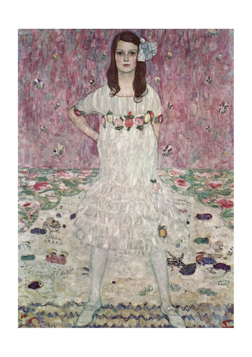 Gustav Klimt - Portrait in White