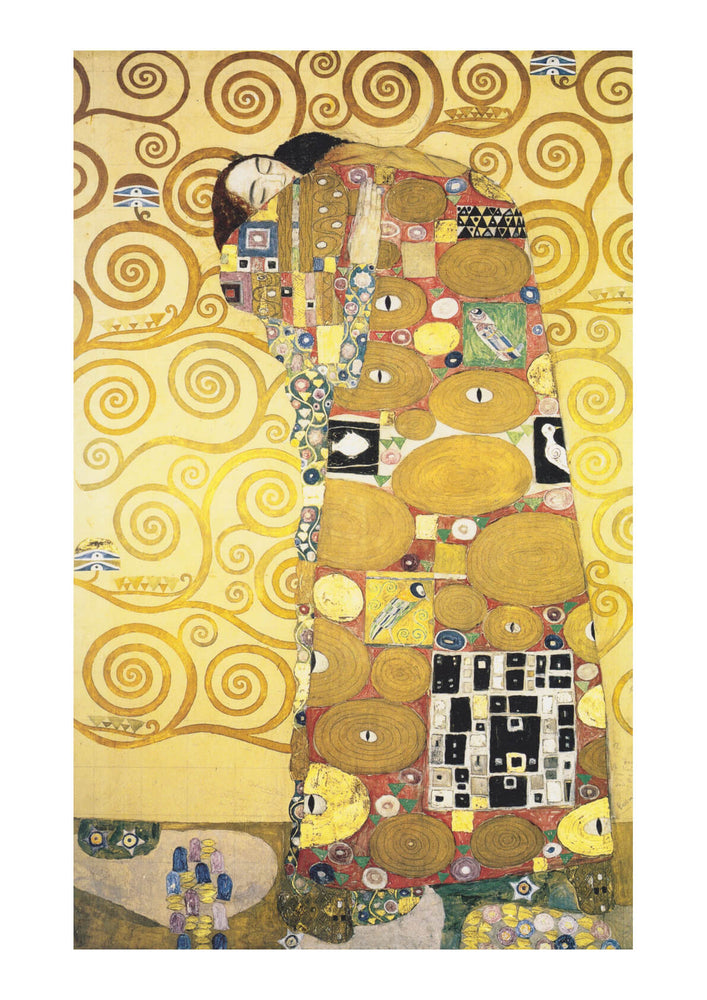 Gustav Klimt - Preparatory design - Stoclet Palace