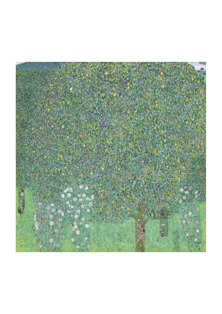 Gustav Klimt - Rosebushes under the Trees - Google Art Project
