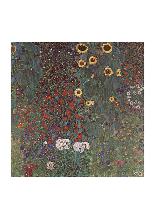 Gustav Klimt - The Garden