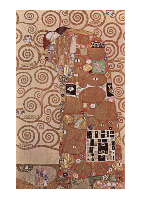 Gustav Klimt - The Tree Right