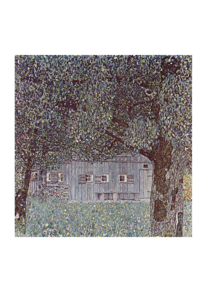 Gustav Klimt - Trees and House
