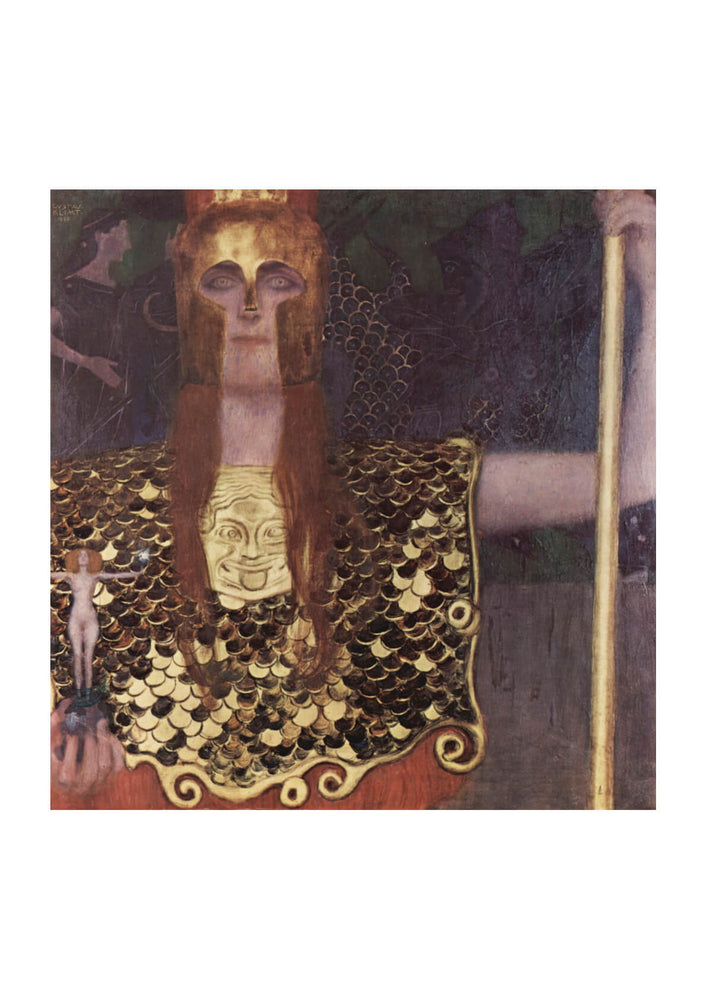Gustav Klimt - Warrior