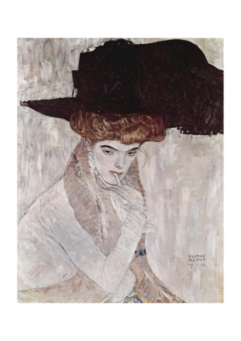Gustav Klimt - Woman in Hat