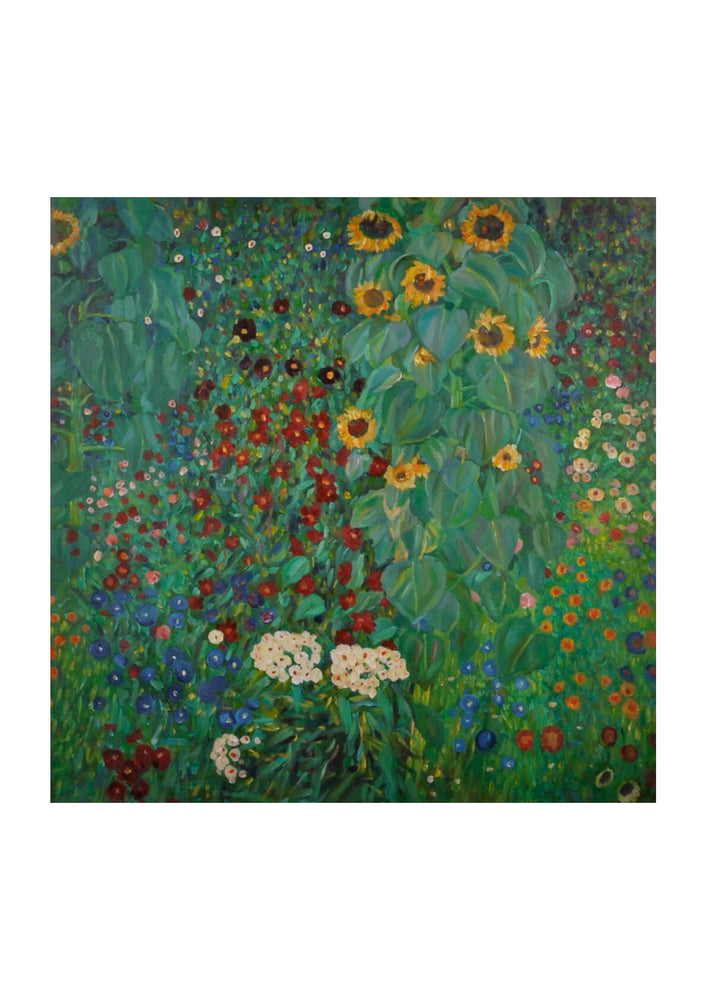 Gustav Klimt Farm Garden with Sunflowers 1912