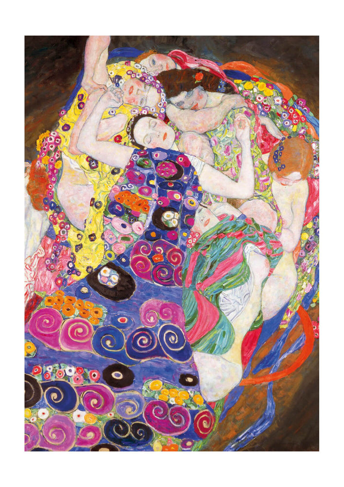 Gustav Klimt The Maiden