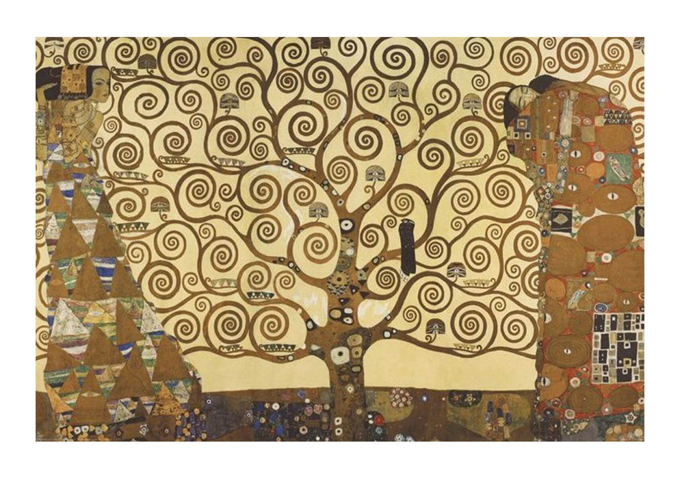 Gustav Klimt The Tree of Life Stoclet Frieze c1909