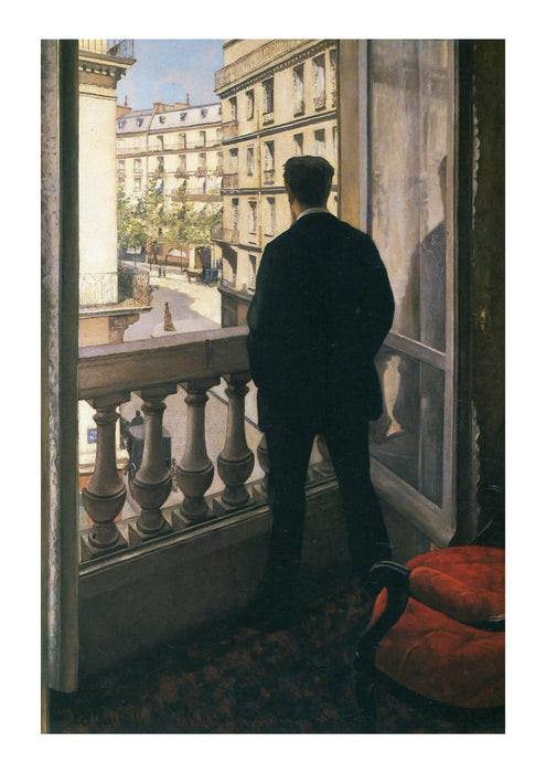 Gustave Caillebotte Man at the Window