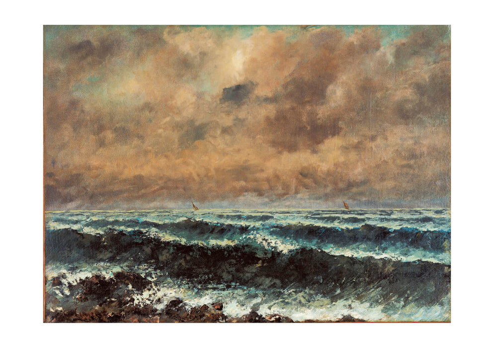 Gustave Courbet - Autumn Sea
