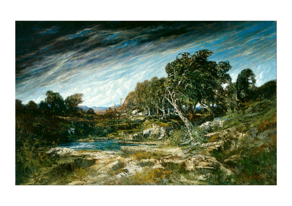 Gustave Courbet - The Gust Of Wind